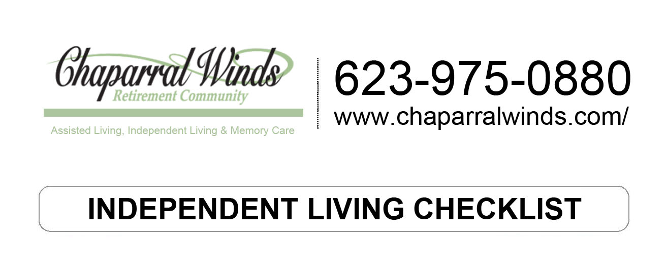 Independent Living Checklist