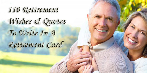 What to write on a retirement card