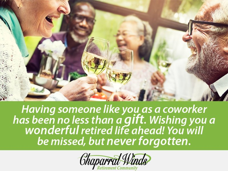 Retirement Wishes For Coworkers