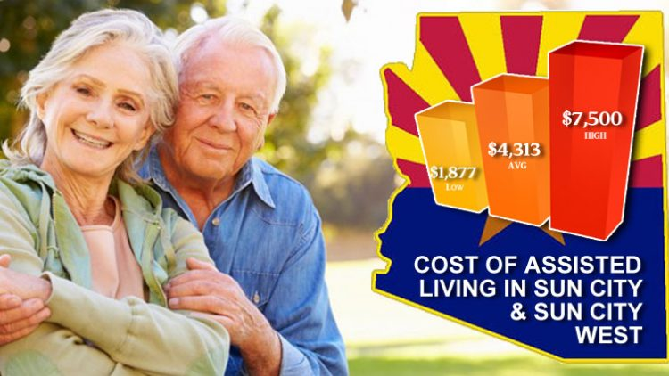 How Much Does Assisted Living Cost In Sun City & Sun City West Arizona
