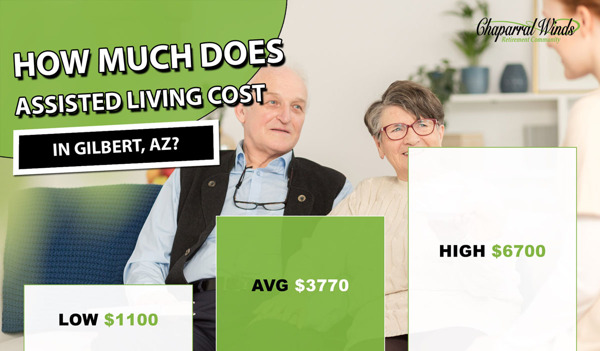 How Much Does Assisted Living Cost in Gilbert, AZ?