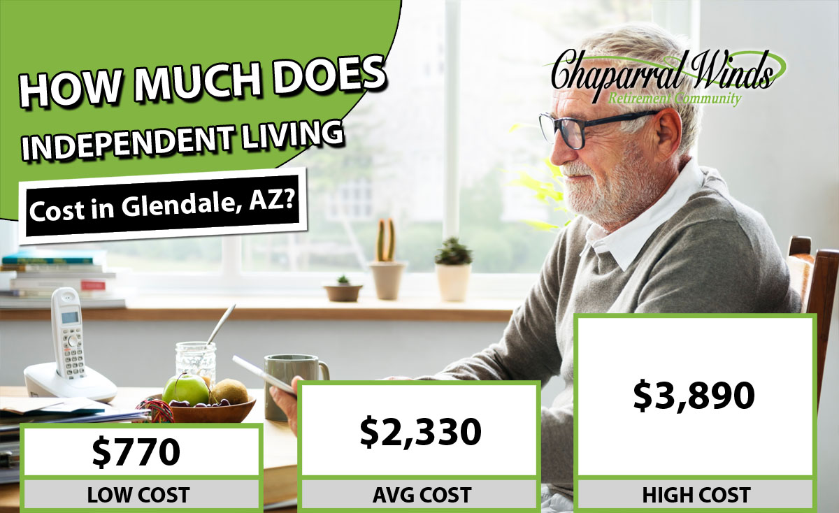 How Much Does Independent Living Cost in Glendale, AZ?